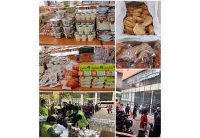[서비스운영] 10월 셋째 주간 대체급식물품 배부